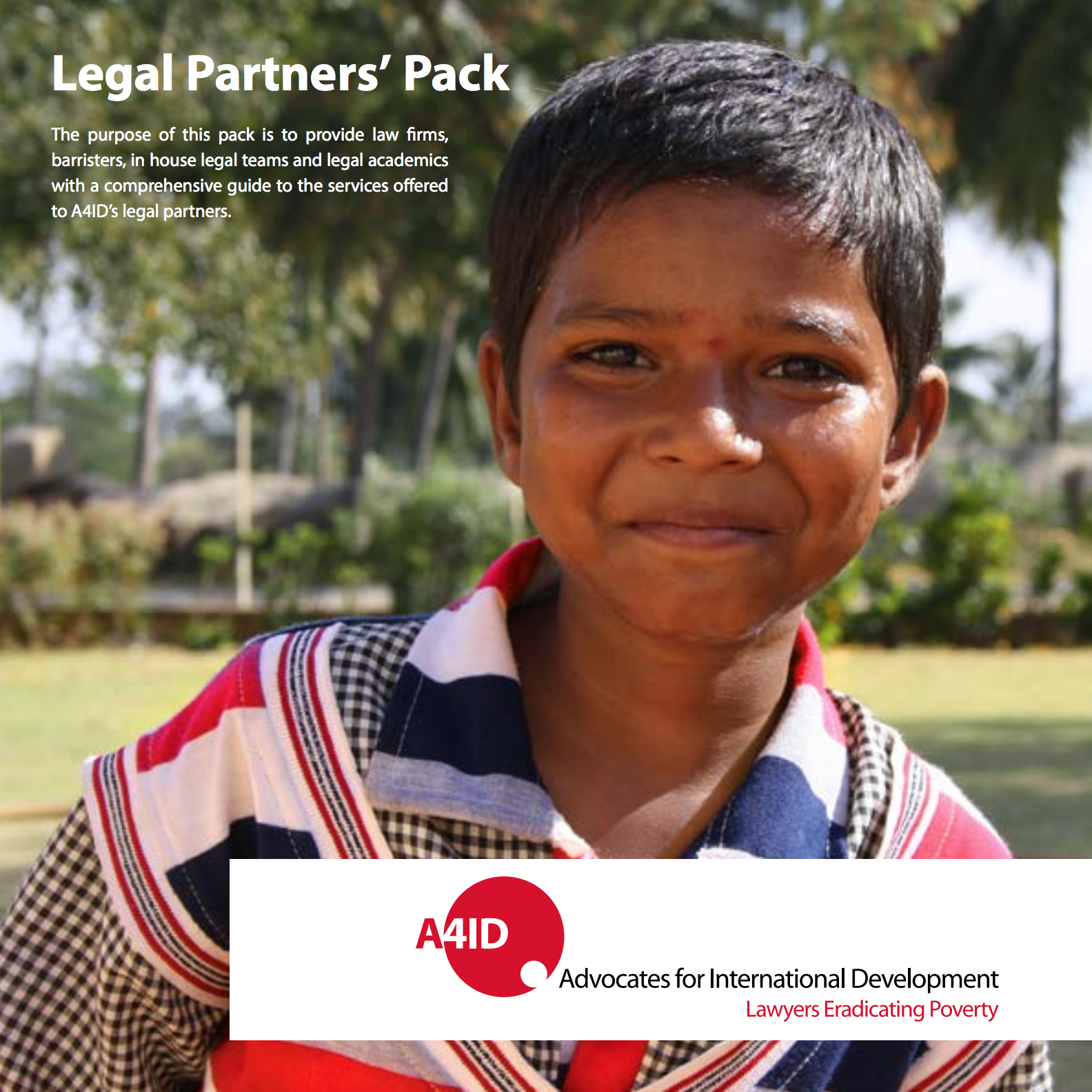 A4ID Legal Partner Pack Cover