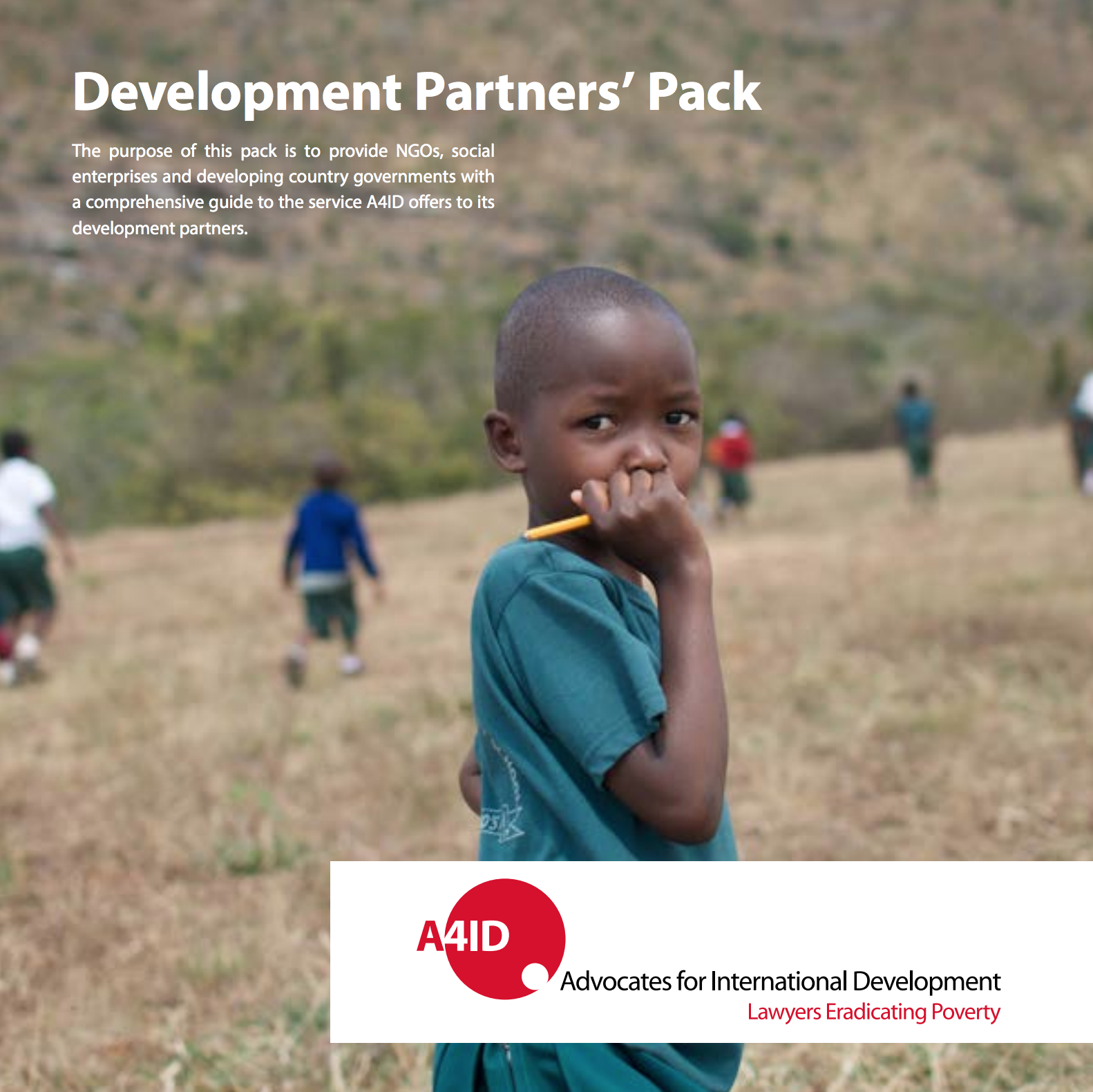 development partner pack cover