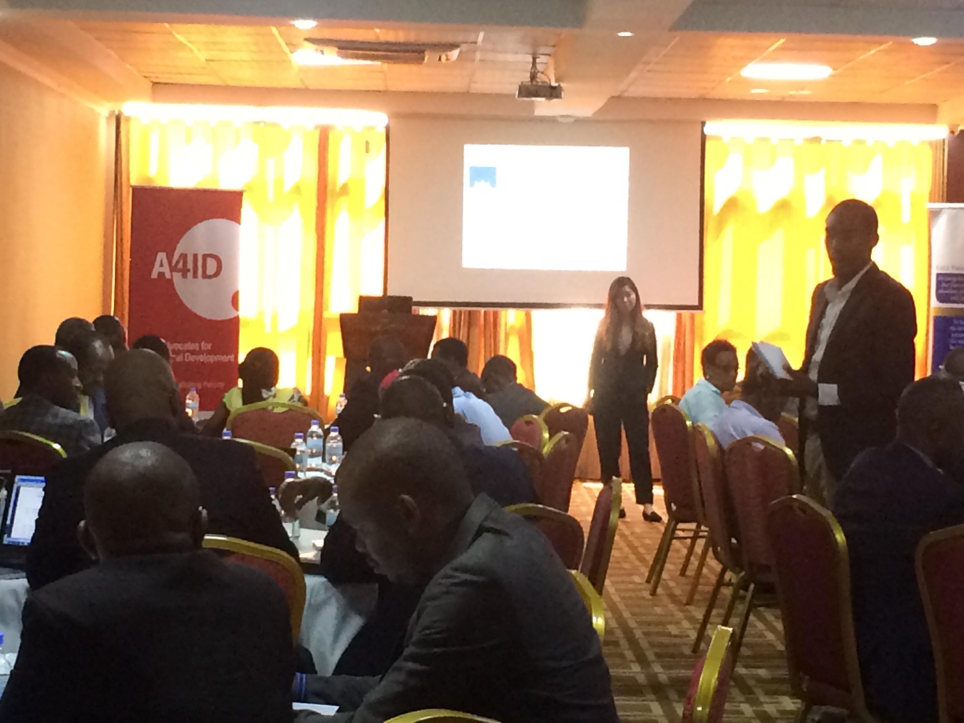 A4ID Rwanda Training